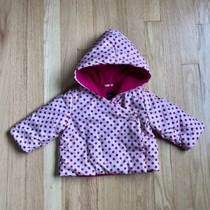 Baby Gap Polka Dot Winter Jacket